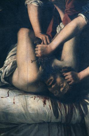 Primary view of Judith and Holofernes