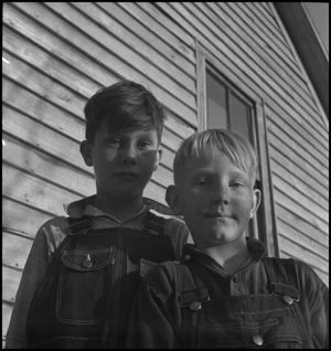Primary view of object titled '[Two boys]'.