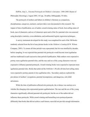 literature review on single parenting pdf