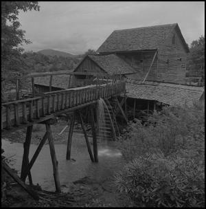 Primary view of object titled '[Large watermill]'.