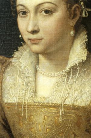 Primary view of object titled 'Portrait of a Young Lady'.