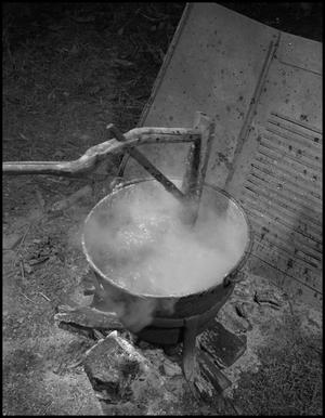 Primary view of object titled '[Boiling apple butter]'.