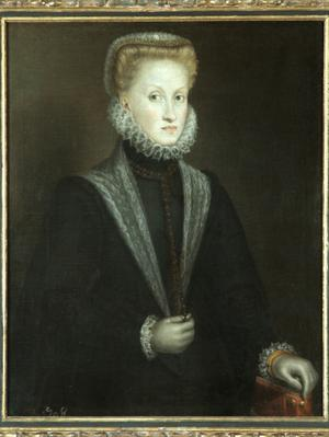Primary view of object titled 'Anne of Austria, Fourth Wife of Philip II'.