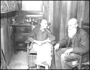 Primary view of object titled '[Old Timers: Aunt China and Uncle Harve]'.