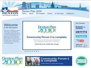Denton Plan 2030
