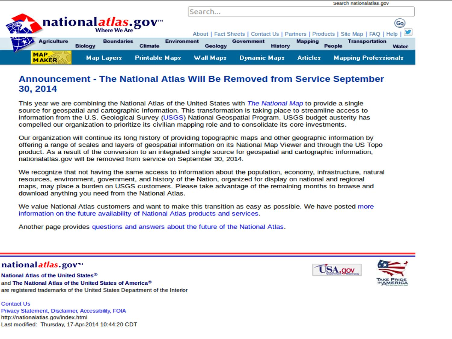 National Atlas Of The United States Digital Library - Map-of-us-government