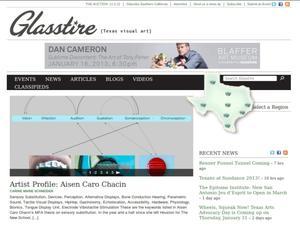 Glasstire: Visual Art News and Reviews