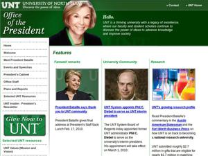 Resignation of University of North Texas President Gretchen Bataille