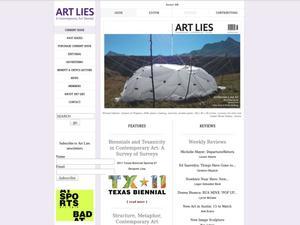 Art Lies: A Contemporary Art Quarterly