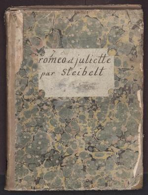 Primary view of Romeo et Juliette, opera en trois actes, en prose