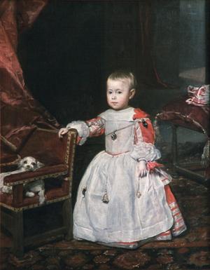 Primary view of Infante Philip Prosper (1657-61)