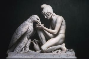 Primary view of object titled 'Ganymede with the Eagle'.