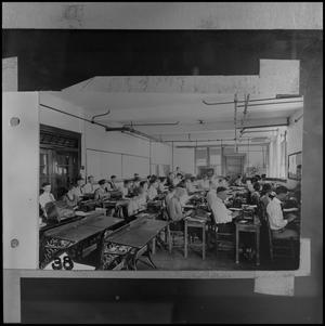 Primary view of object titled '[1920s typing class]'.