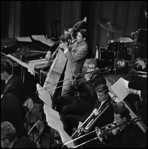 Primary view of object titled '[1963 Lab band concert]'.