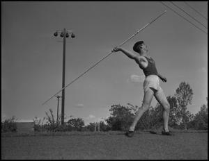 Primary view of object titled '[Men's Javelin Throw]'.