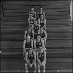 Primary view of object titled '[1961-1962 Eaglets, 2]'.