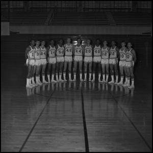 Primary view of object titled '[1969 - 1970 Eagles Basketball Team, 2]'.