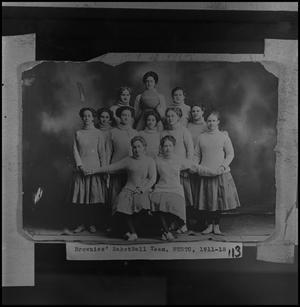 Primary view of [Brownies' Basketball Team, NTSTC, 1911 - 1912, 2]