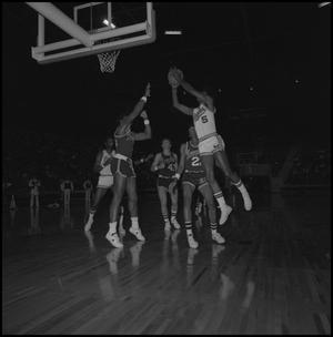 Primary view of object titled '[North Texas Eagles vs Memphis State]'.
