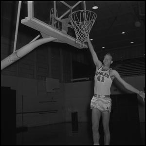 Primary view of object titled '[Eagles Basketball Player, 3]'.