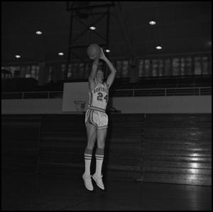 Primary view of object titled '[Neil Adams North Texas Basketball Player]'.