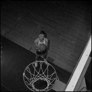 Primary view of object titled '[Varsity Basketball Player Norman Colglazier]'.