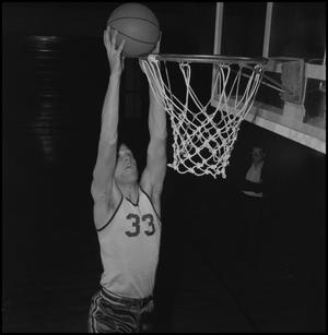 Primary view of object titled '[Basketball Player David Ebershoff, 2]'.