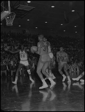 Primary view of object titled '[Men's Basketball Game North Texas State vs Wichita]'.