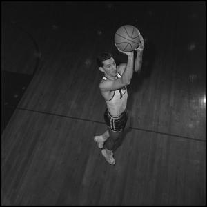 Primary view of object titled '[Eagle Varisty Basketball Player Ardie Dixon, 2]'.