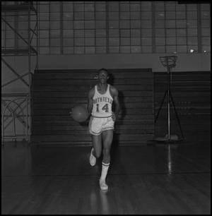 Primary view of object titled '[Basketball Player Leroy Winfield]'.