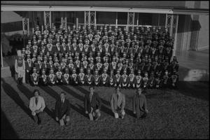 Primary view of object titled '[Marching Band Group Shot]'.