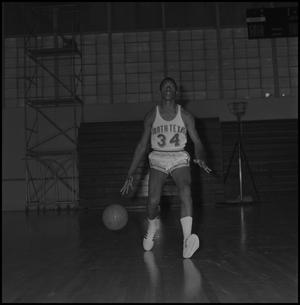 Primary view of object titled '[North Texas Basketball Player Roy Ford]'.