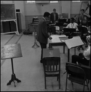 Primary view of object titled '[Lab Band Practice]'.