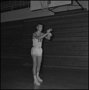 Primary view of object titled '[1967 Freshman Basketball Player No. 14]'.