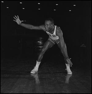 Primary view of object titled '[Oscar Miller on the court]'.