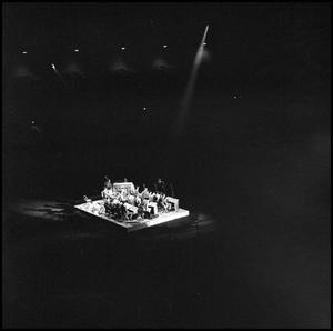 Primary view of object titled '[Lab Band at the Texas State Fair, October 1960]'.