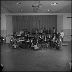 Primary view of object titled '[One O'Clock Lab Band and Faculty]'.