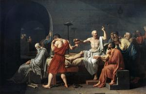 Primary view of The Death of Socrates