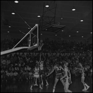 Primary view of object titled '[North Texas Eagles vs Fullerton Titans Men's Basketball Game]'.