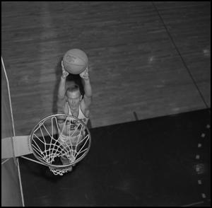 Primary view of object titled '[NTSU Basketball Player Bubba Bailey]'.