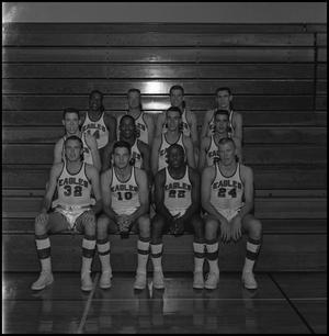 Primary view of object titled '[1962-1963 Men's Varsity Basketball]'.