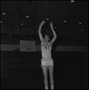 Primary view of object titled '[Eagles Basketball Player, 5]'.