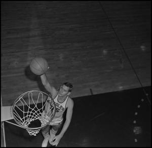 Primary view of object titled '[NTSU Basketball Player David Welch, 2]'.