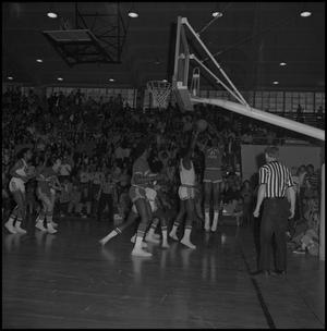 Primary view of object titled '[Men's Basketball Eagles vs New Mexico]'.