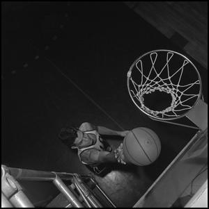 Primary view of object titled '[Varsity Basketball Player Norman Colglazier, 4]'.