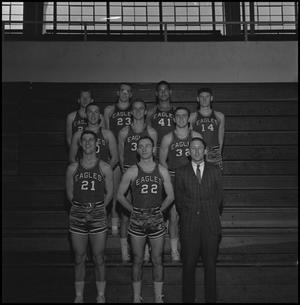 Primary view of object titled '[1963-1964 Freshman basketball team]'.