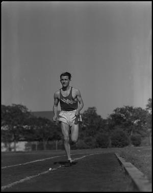 Primary view of [Jack Sahling on Track]