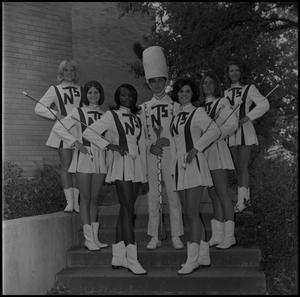 Primary view of object titled '[North Texas State University Majorettes]'.