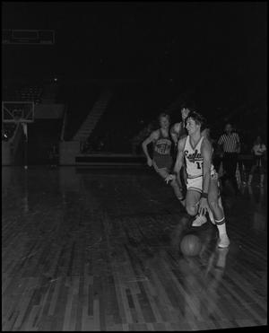 Primary view of object titled '[North Texas Eagles vs Samford Bulldogs in Men's Basketball Game]'.