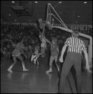 Primary view of object titled '[Men's Basketball Game against New Mexico State]'.
